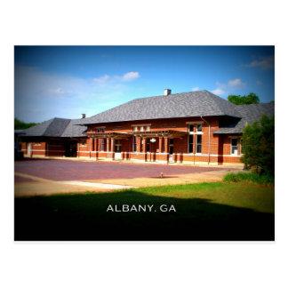 Carte Postale STATION des SYNDICATS - Albany, la Géorgie