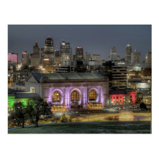 Carte Postale Station des syndicats (Kansas City)