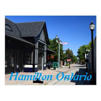 Carte Postale Station Hamilton Ontario de Ferguson