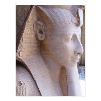Carte Postale Statue colossale de Ramesses II à Memphis, Egypte