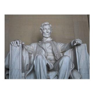 Carte Postale Statue d'Abraham Lincoln