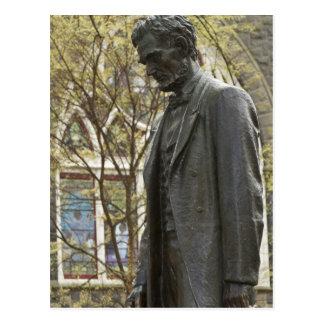 Carte Postale Statue d'Abraham Lincoln, Portland, Orégon