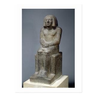 Carte Postale Statue d'Ankh, prêtre de Horus, pe dynastique tôt
