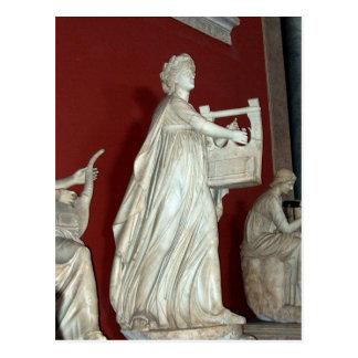 Carte Postale Statue d'Apollo dans le musée de Vatican
