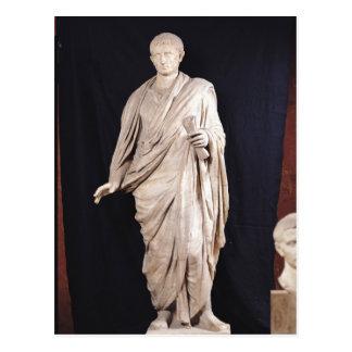 Carte Postale Statue de César Augustus