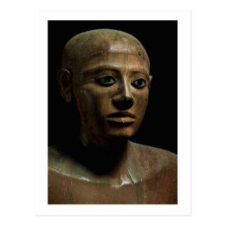Carte Postale Statue de chancelier Nakhti, d'Asyut, mi tôt