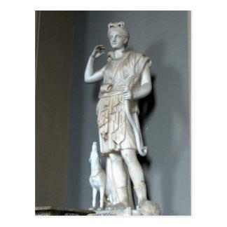 Carte Postale Statue de Diana (Artemis) à Vatican à Rome