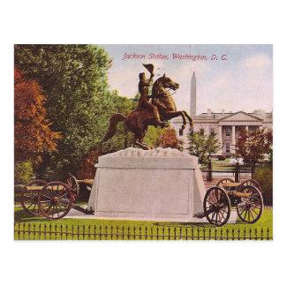 Carte Postale Statue de Jackson