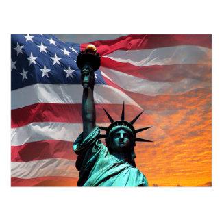 Carte Postale Statue de la liberté