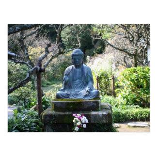 Carte Postale Statue méditante de Bouddha