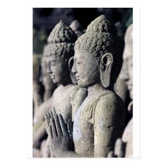 Carte Postale Statues en pierre de Bouddha