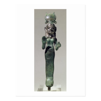 Carte Postale Statuette d'une déesse phénicienne, du Phoeni