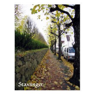 Carte Postale Stavanger, Norvège
