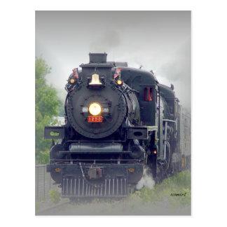 Carte Postale steamtrain américain