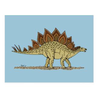 Carte Postale Stegosaurus