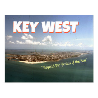 Carte postale Stevens-orientée de Key West Wallace