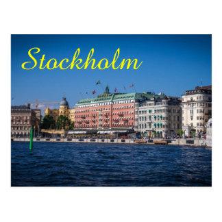 Carte Postale Stockholm Suède