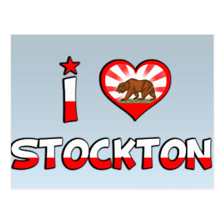 Carte Postale Stockton, CA