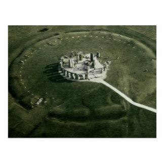 Carte Postale Stonehenge de l'air