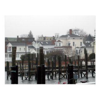 Carte Postale stonington de dock