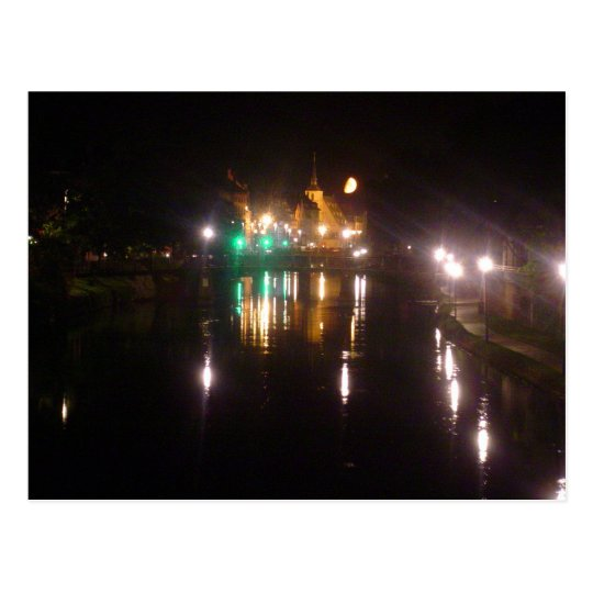 Carte Postale Strasbourg by night