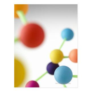 Carte Postale Structure moléculaire