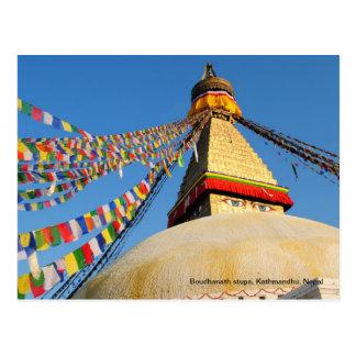 Carte Postale Stupa de Boudhanath