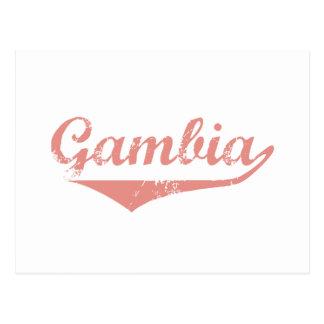 Carte Postale Style de révolution de la Gambie