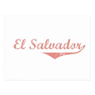 Carte Postale Style de révolution du Salvador