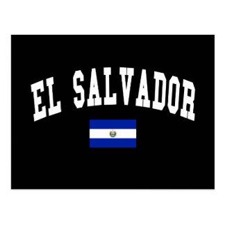 Carte Postale Style d'université du Salvador