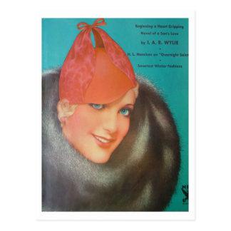 Carte Postale Style vintage 1933
