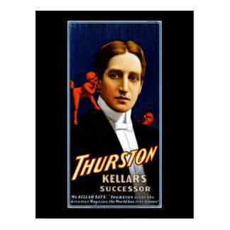 Carte Postale Successeur de Thurston Kellar