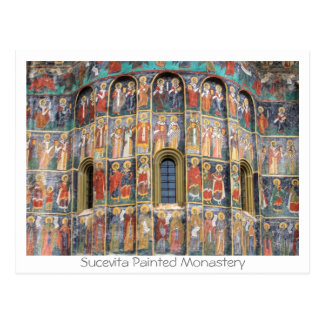Carte Postale Sucevita a peint le monastère