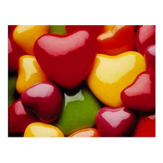 Carte Postale Sucrerie de coeur