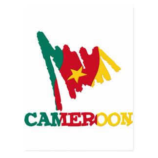 Carte Postale Sucreries du Cameroun