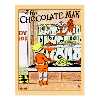 Carte Postale Sucreries vintages de magasin de bonbons de