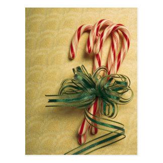 Carte Postale Sucres de canne attachés avec le ruban