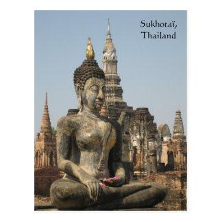 Carte Postale Sukhotaï, Thaïlande