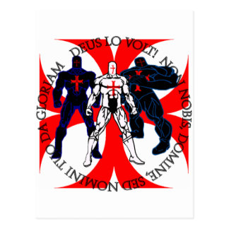 Carte Postale Super héros de Templar