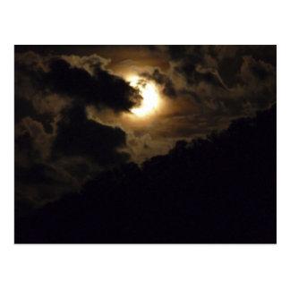 Carte postale superbe de lune