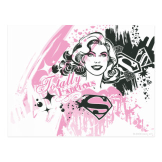 Carte Postale Supergirl totalement fabuleux