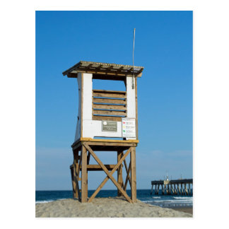 Carte Postale Support 5 de maître nageur de plage de