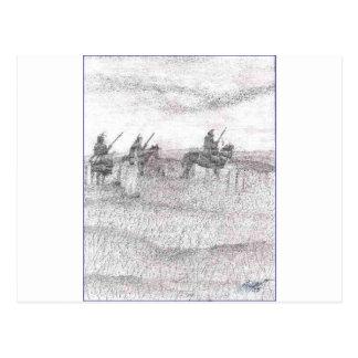 Carte Postale Support de bout de Custers