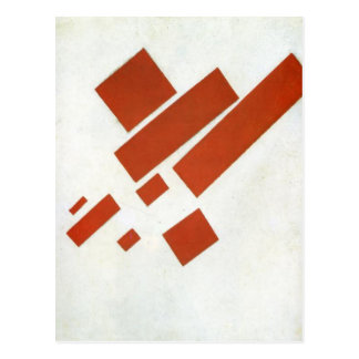 Carte Postale Suprematism. Autoportrait bidimensionnel