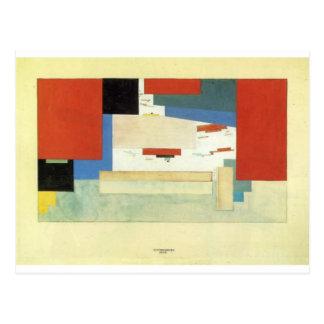Carte Postale Suprematism par Kazimir Malevich