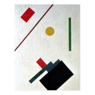 Carte Postale Suprematist Composition, 1915