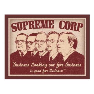 Carte Postale Supreme Corp