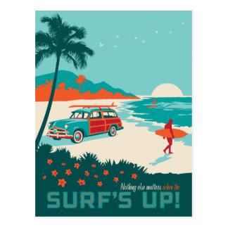 Carte Postale Surf