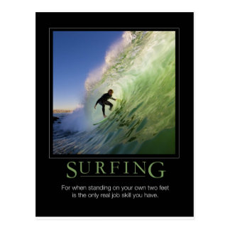Carte Postale Surfer
