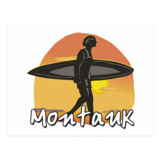 Carte Postale Surfer de Montauk